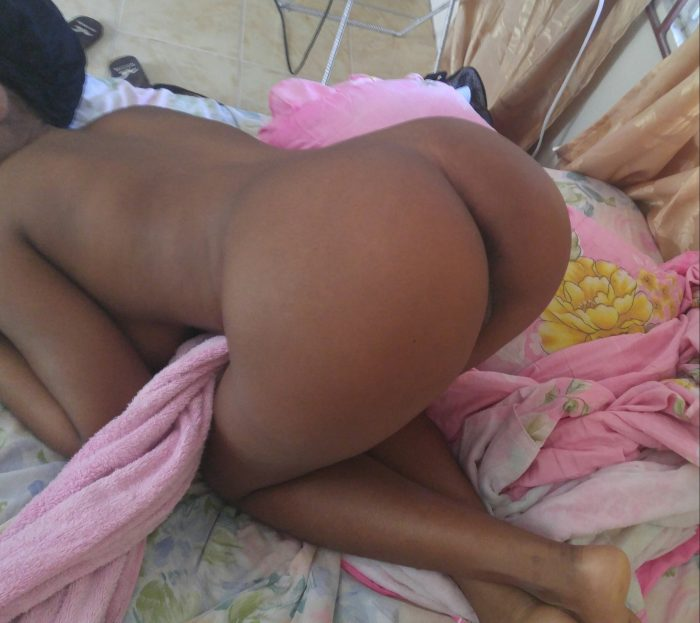 Bent amateur selfies ass girl over