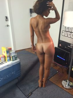 Rihanna fully nude front view