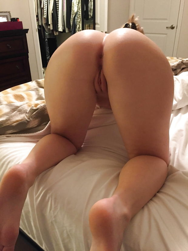 nude ass over bend