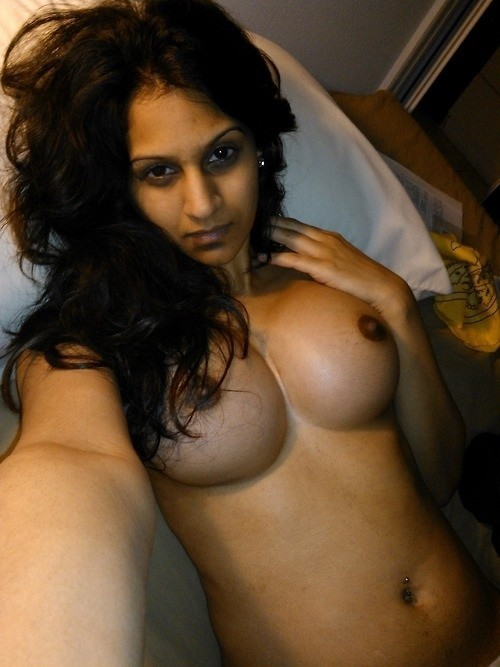 Big breast girl naked with India