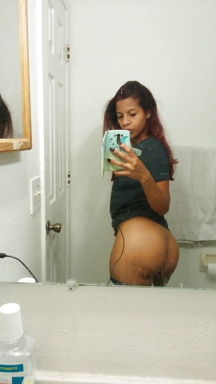 Hot Brazilian freak nude selfie gallery