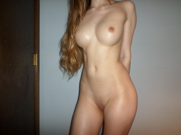 sexy slim body redhead