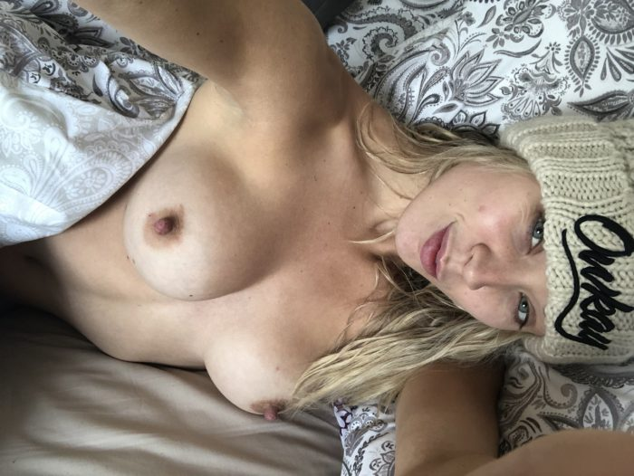 Just woke up, nipples are hard as usual