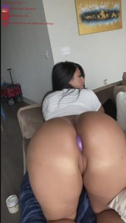 Thick camservants model serving her master