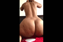 Phat ass black thot putting that ass in your face