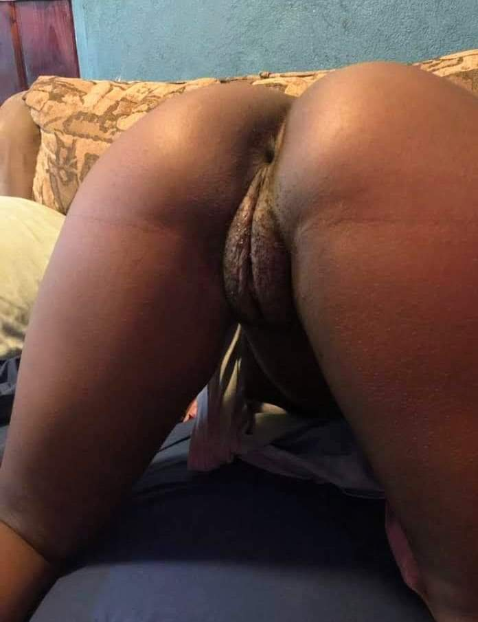 Face down ass up – phat black pussy