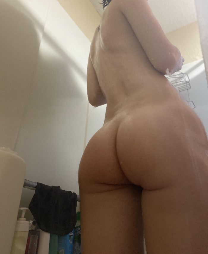 Sexy petite posing sexily